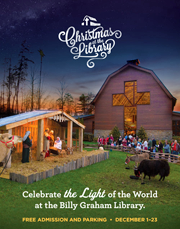 christmas at the library is an experience like no other with christ centered festivities for the whole family enjoy the unique celebration that has become